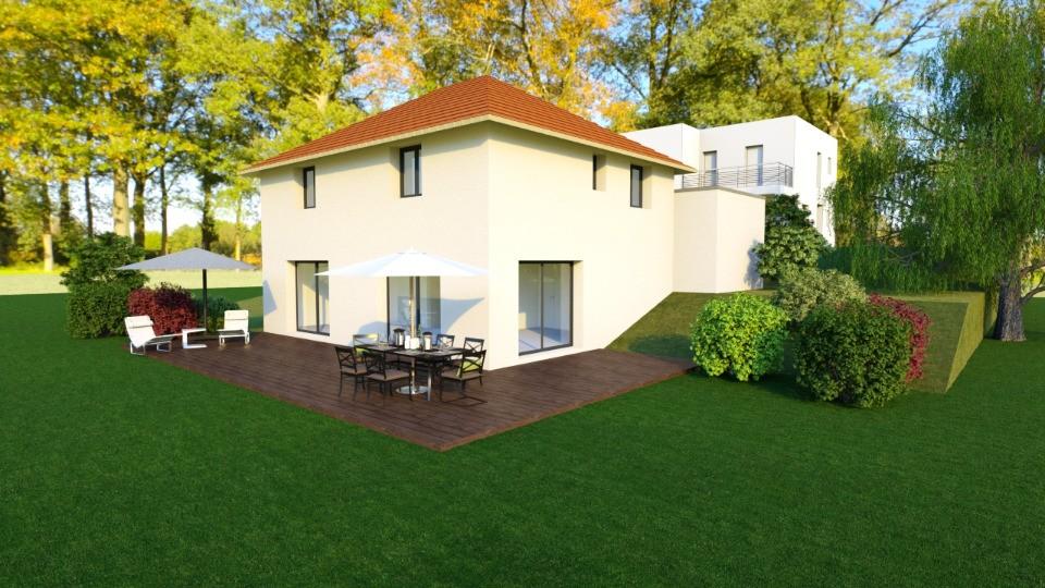 Maisons + Terrains du constructeur MAISONS FRANCE CONFORT • 124 m² • ROMAGNIEU