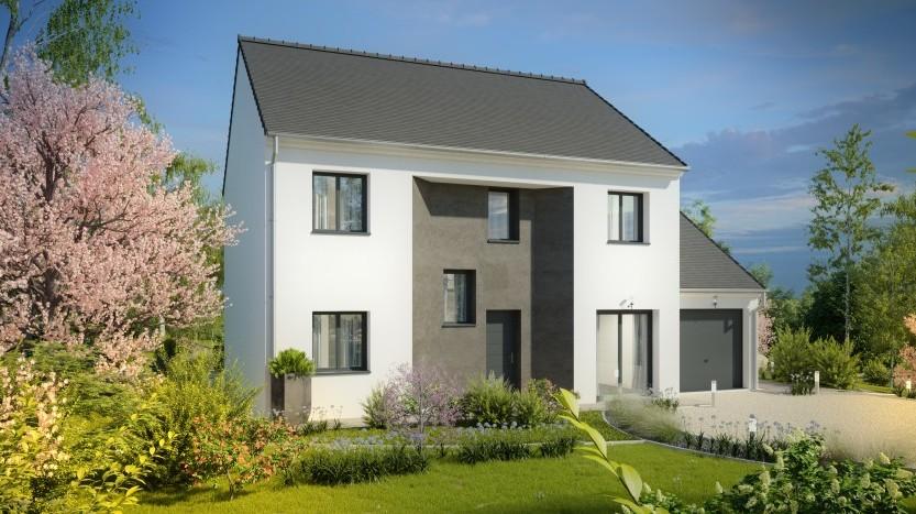Maisons du constructeur MAISONS PIERRE  EVREUX • 133 m² • HEUDICOURT