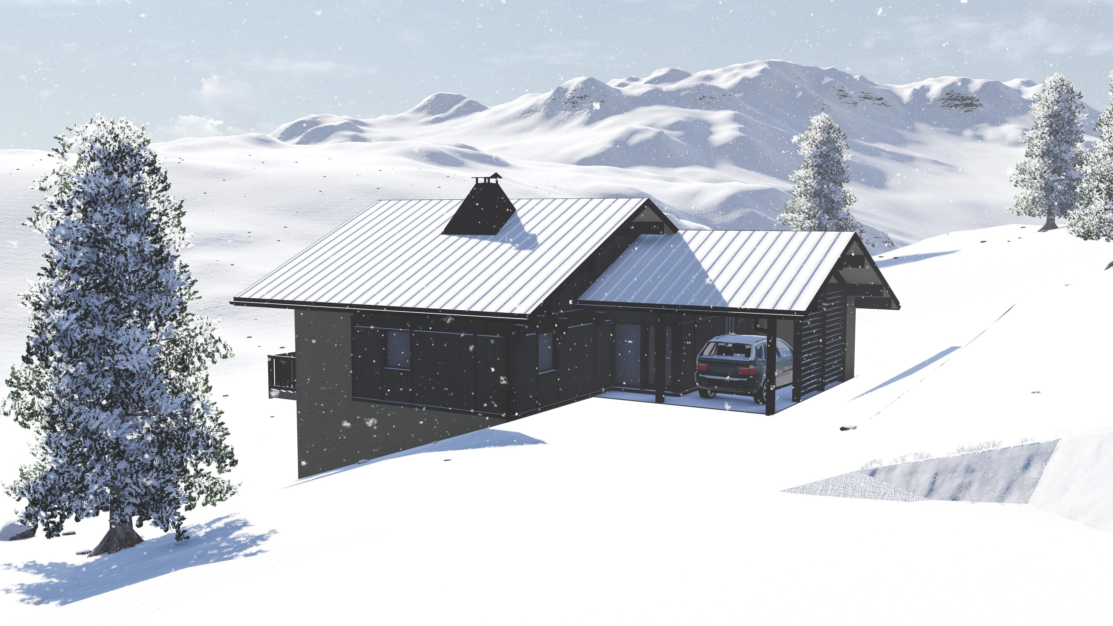 Maisons du constructeur GROUPE DUNOYER • 160 m² • SAINT GERVAIS LES BAINS