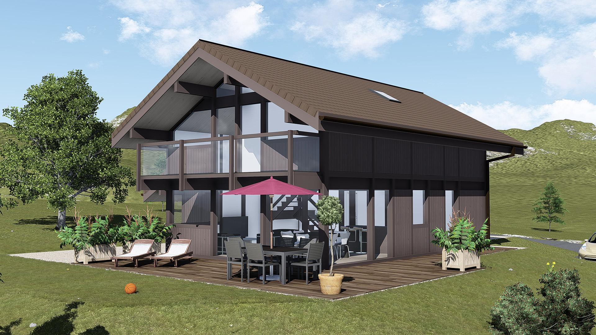 Maisons du constructeur GROUPE DUNOYER • 120 m² • TANINGES