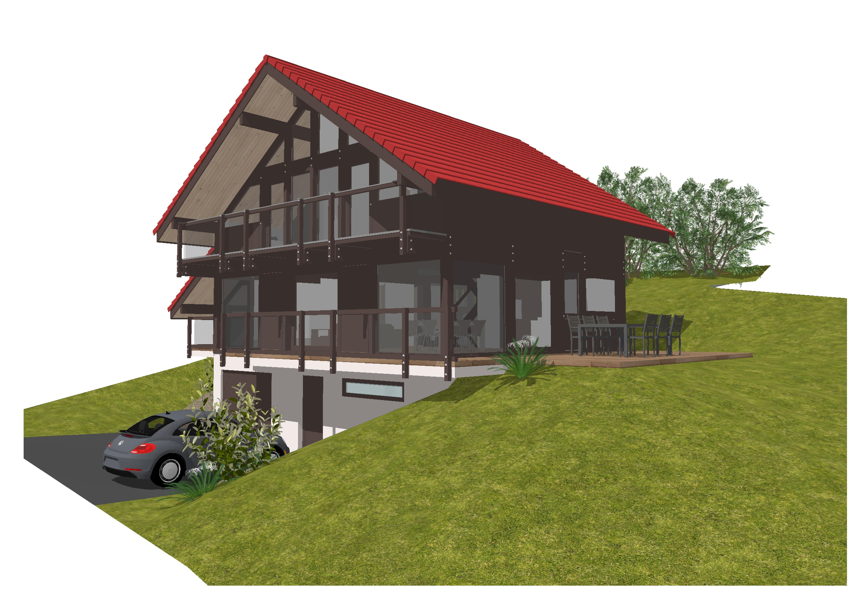 Maisons du constructeur GROUPE DUNOYER • 160 m² • MENTHON SAINT BERNARD