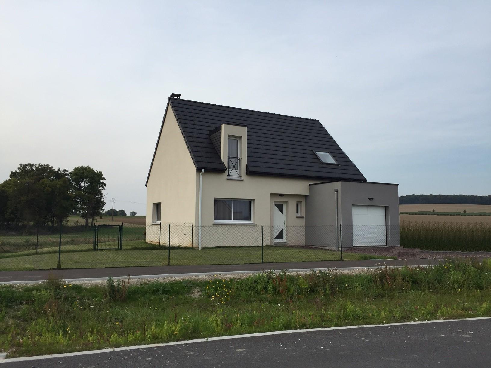 Maisons + Terrains du constructeur HABITAT CONCEPT NEUVILLE ST REMY • 79 m² • RAILLENCOURT SAINTE OLLE