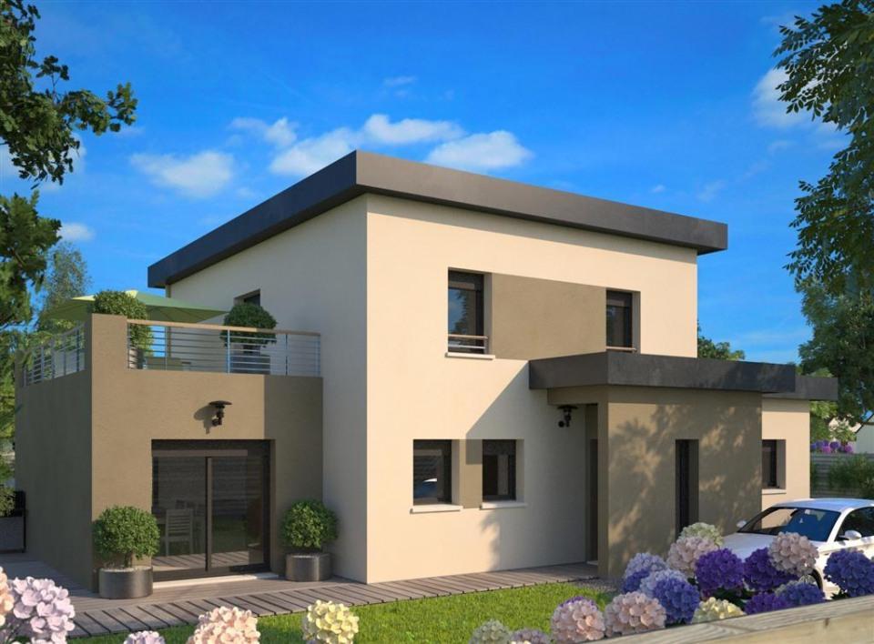 Maisons + Terrains du constructeur MAISONS FRANCE CONFORT • 167 m² • RAMICOURT