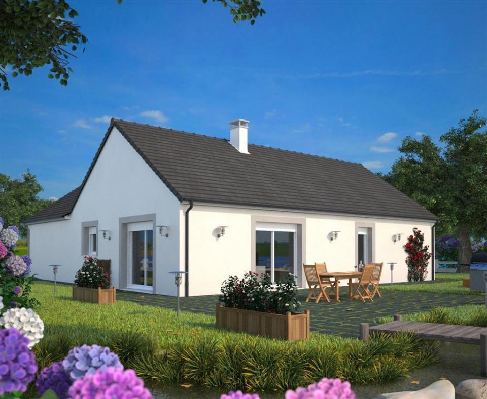 Maisons + Terrains du constructeur MAISONS FRANCE CONFORT • 106 m² • RAMICOURT