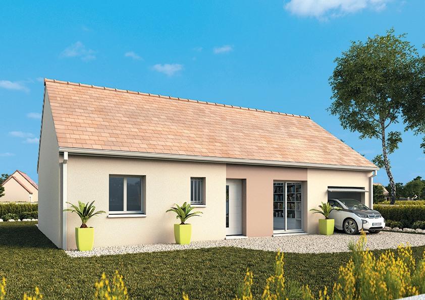 Maisons + Terrains du constructeur MAISONS FRANCE CONFORT • 80 m² • LA CAPELLE