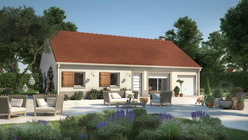 Maisons + Terrains du constructeur MAISONS FRANCE CONFORT • 93 m² • LE HAUCOURT