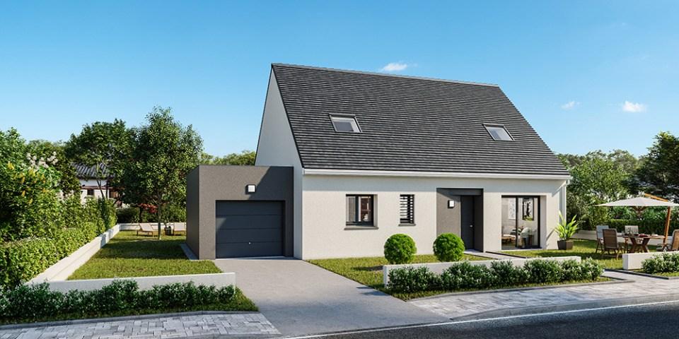 Maisons + Terrains du constructeur MAISONS FRANCE CONFORT • 85 m² • LA BOUTEILLE