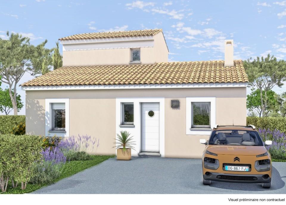 Maisons + Terrains du constructeur LES MAISONS DE MANON • 77 m² • GRIMAUD