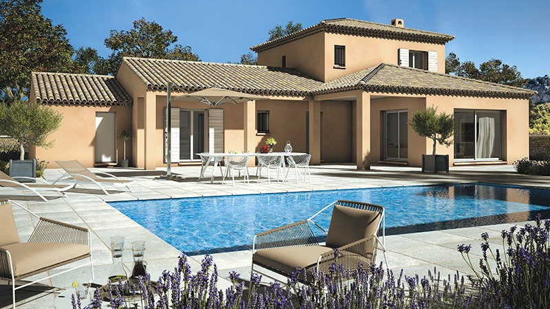 Maisons + Terrains du constructeur LES MAISONS DE MANON • 120 m² • DRAGUIGNAN
