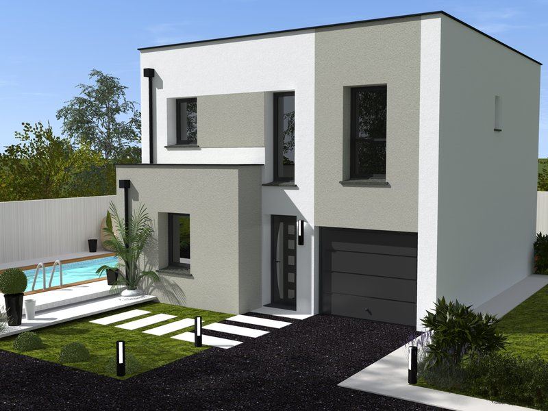 Maisons du constructeur IDEAL LOGIS • 95 m² • ALLONNES