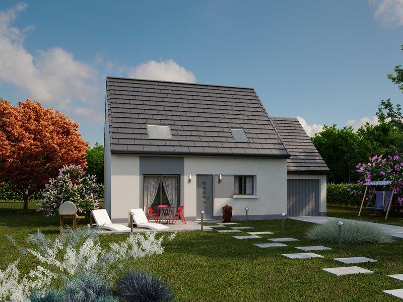 Maisons du constructeur IDEAL LOGIS • 102 m² • PARIGNE LE POLIN