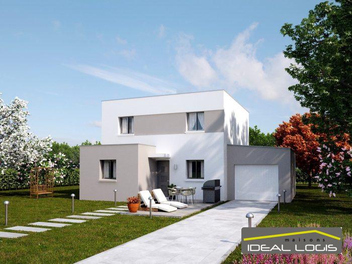 Maisons du constructeur IDEAL LOGIS • 122 m² • CHANGE