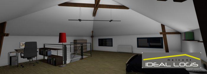 Maisons du constructeur IDEAL LOGIS • 148 m² • LAVARDIN