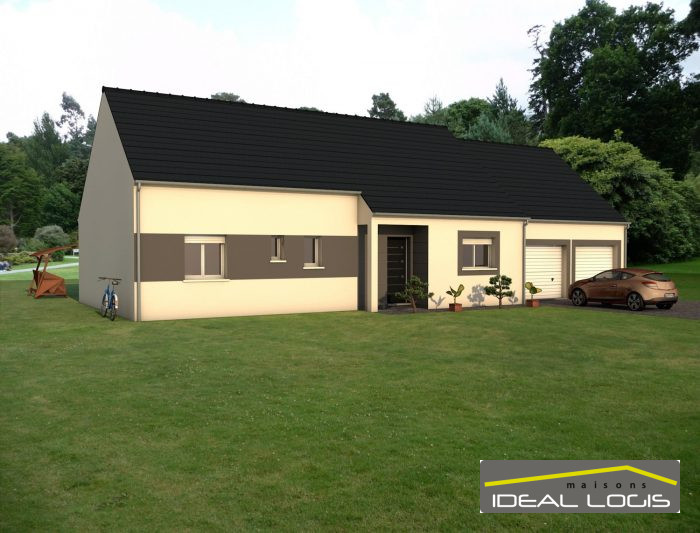 Maisons du constructeur IDEAL LOGIS • 97 m² • LA BAZOGE