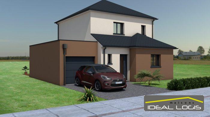 Maisons du constructeur IDEAL LOGIS • 109 m² • ROUILLON