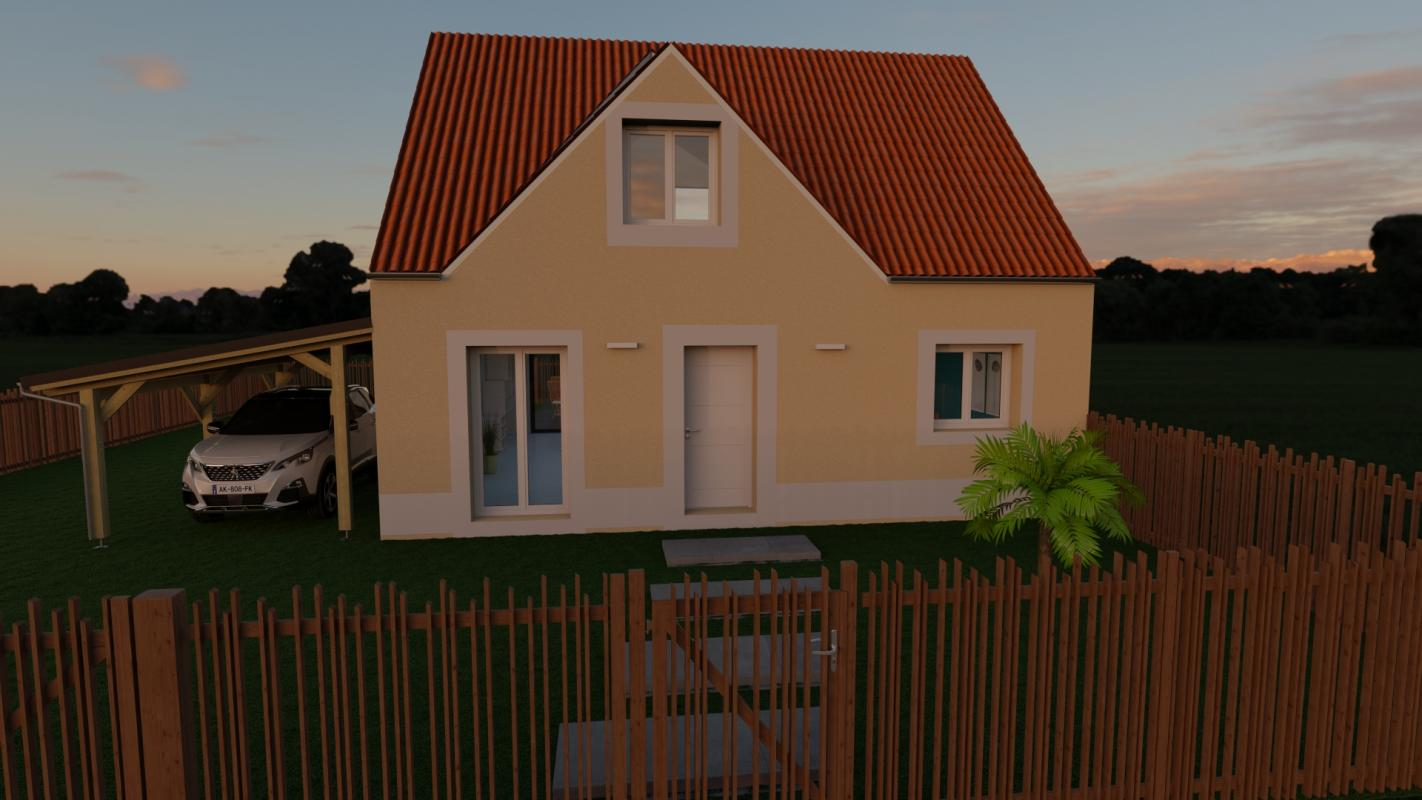 Maisons du constructeur MAISON LOL • 95 m² • SAINT SOUPPLETS