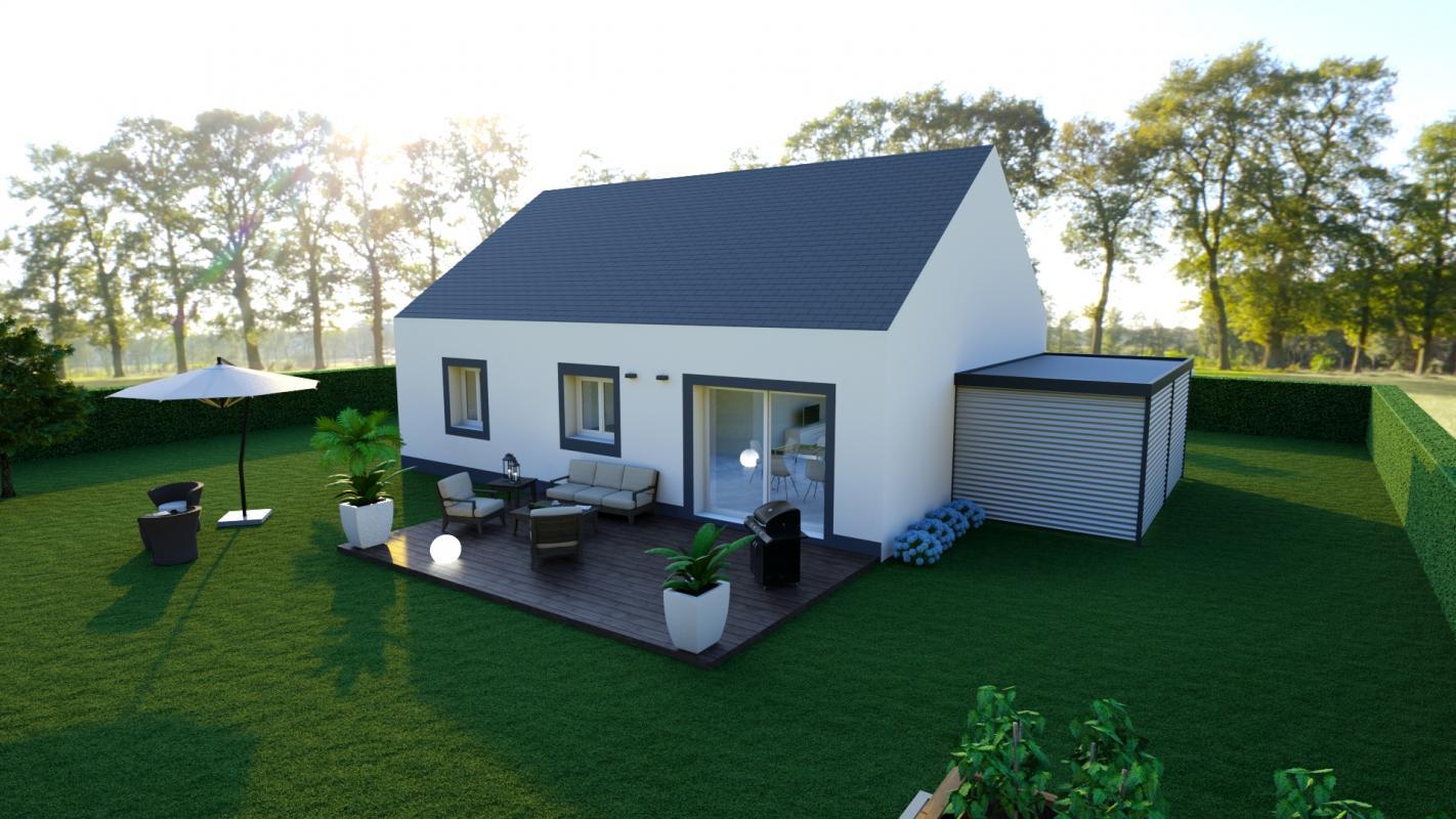 Maisons du constructeur MAISON LOL • 84 m² • COULOMMIERS