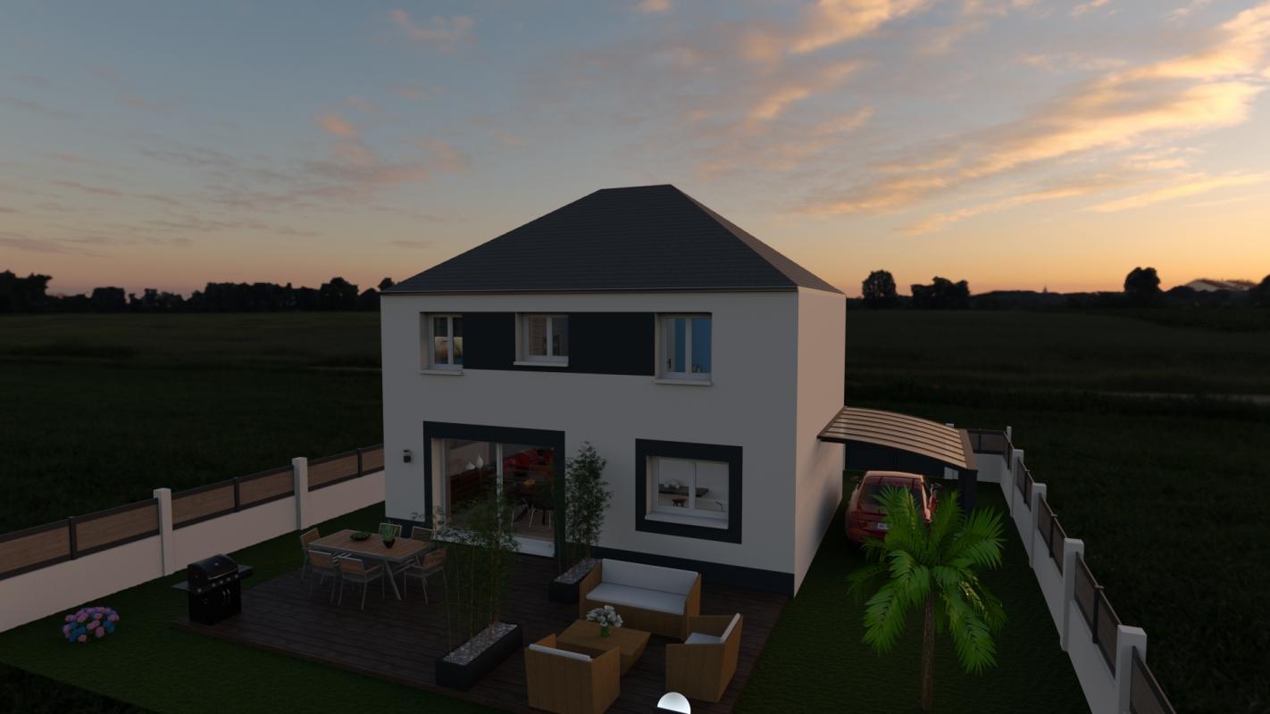 Maisons du constructeur MAISON LOL • 102 m² • CROISSY BEAUBOURG