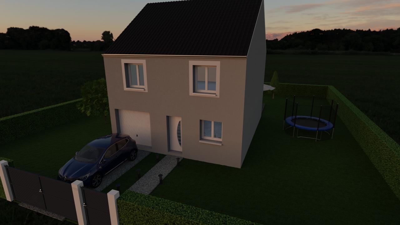 Maisons du constructeur MAISON LOL • 95 m² • CRECY LA CHAPELLE