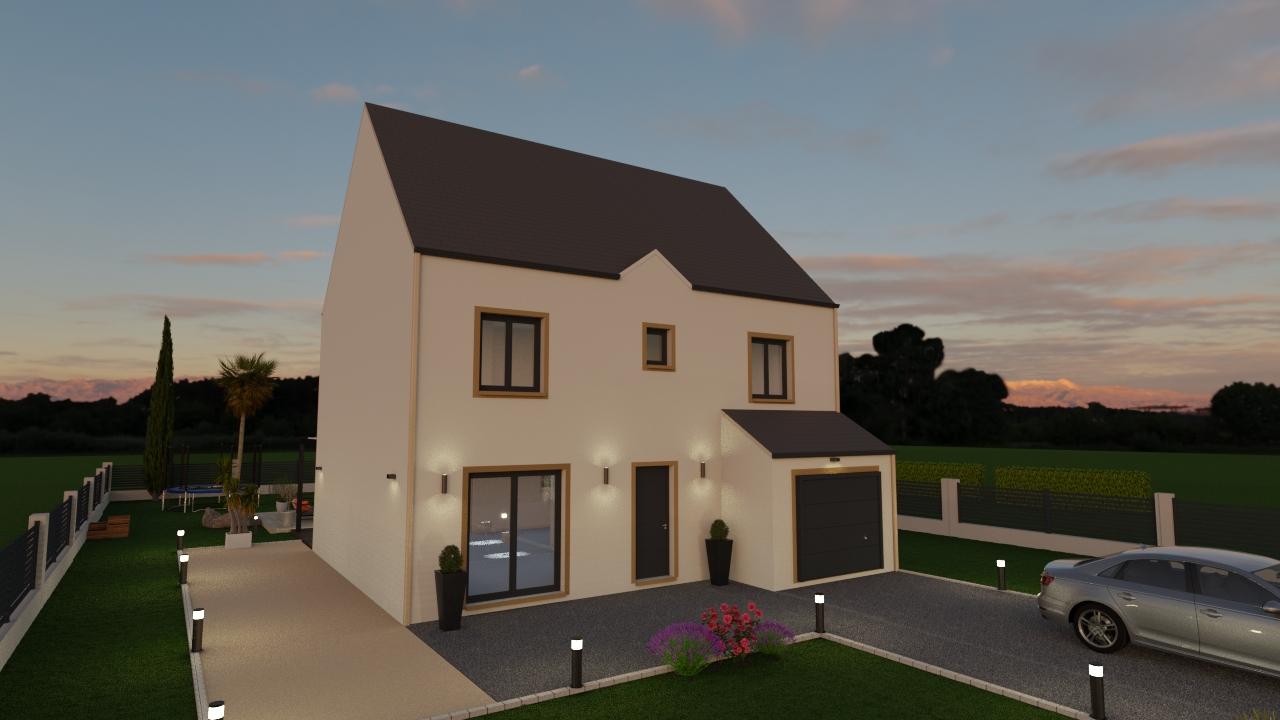 Maisons du constructeur MAISON LOL • 93 m² • VERT SAINT DENIS