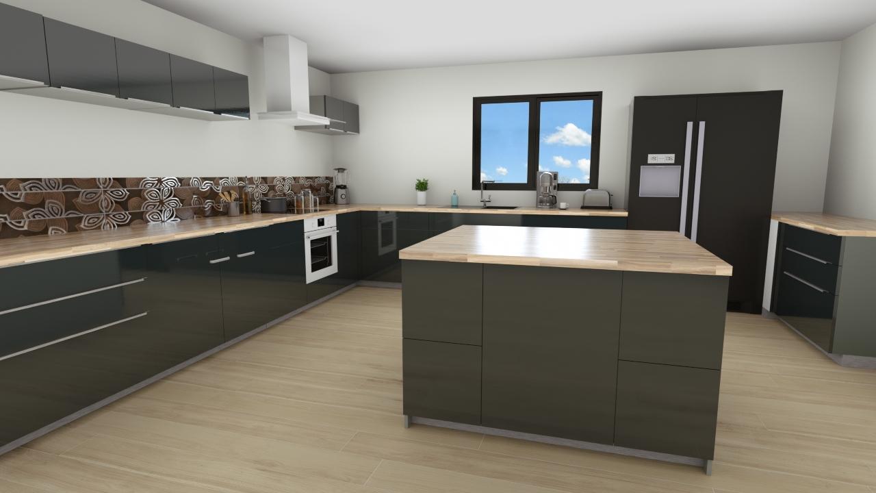 Maisons du constructeur MAISON LOL • 80 m² • DAMMARIE LES LYS