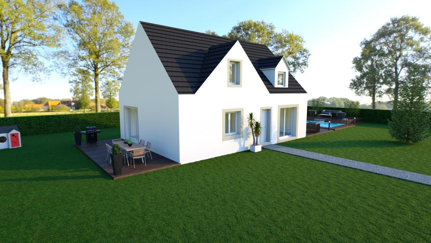 Maisons du constructeur MAISON LOL • 95 m² • NANGIS