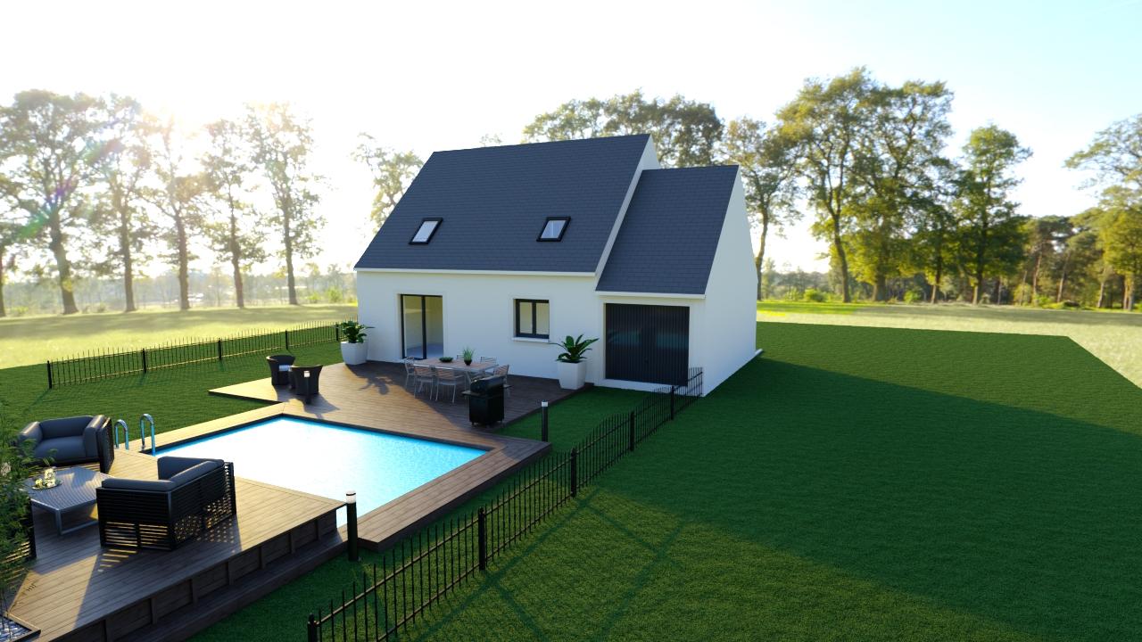 Maisons du constructeur MAISON LOL • 88 m² • EVRY GREGY SUR YERRE