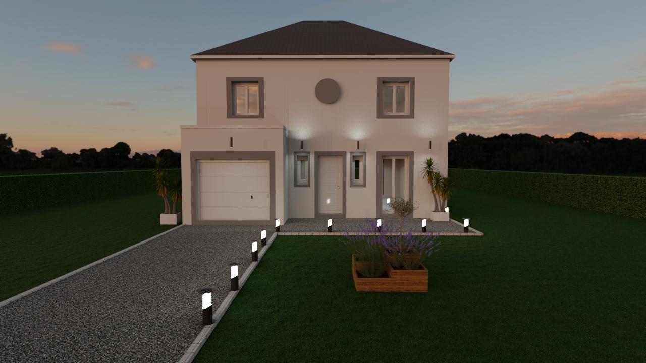 Maisons du constructeur MAISON LOL • 108 m² • VERNEUIL L'ETANG