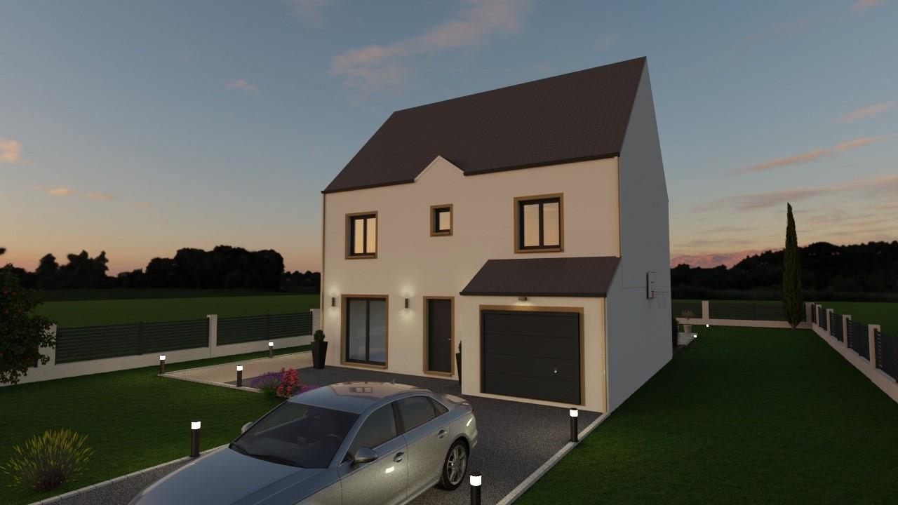 Maisons du constructeur MAISON LOL • 104 m² • CHAUMES EN BRIE