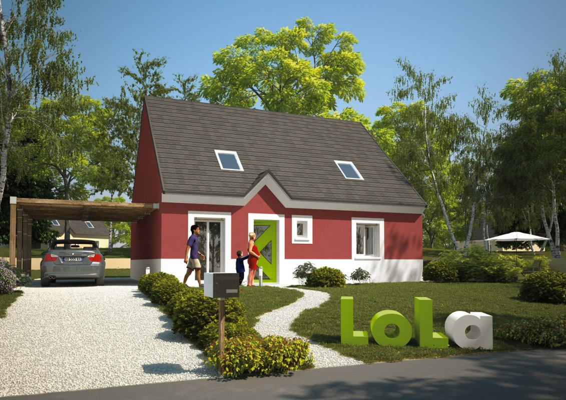 Maisons du constructeur MAISON LOL • 80 m² • MORMANT