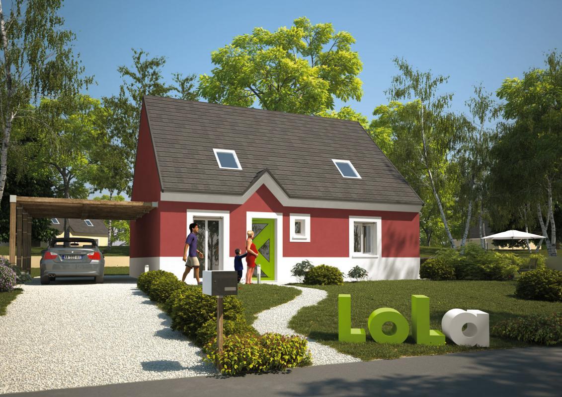 Maisons du constructeur MAISON LOL • 80 m² • NEMOURS