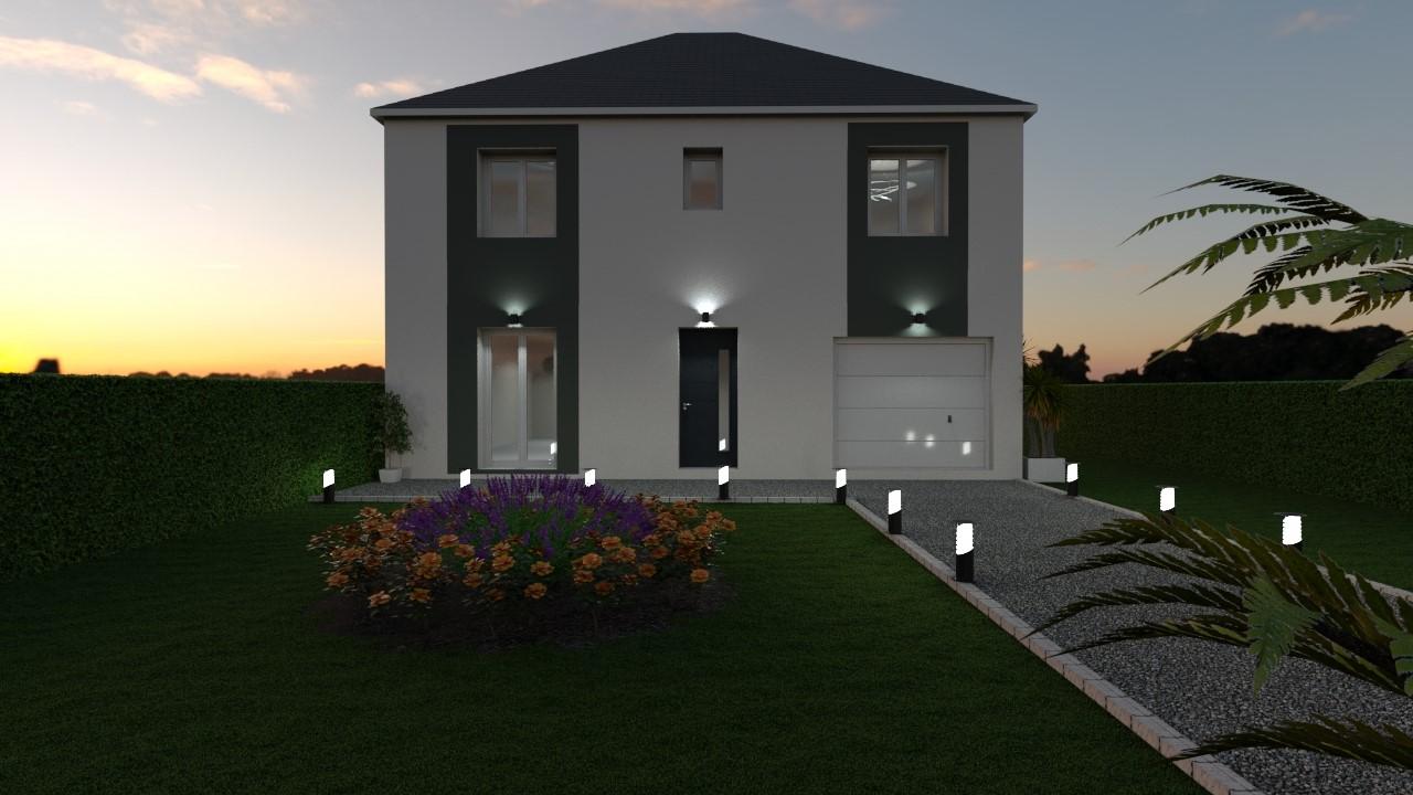 Maisons du constructeur MAISON LOL • 86 m² • FONTAINEBLEAU