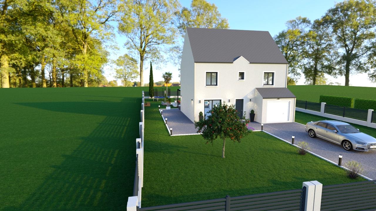 Maisons du constructeur MAISON LOL • 95 m² • SAVIGNY LE TEMPLE