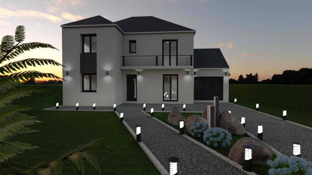 Maisons du constructeur MAISON LOL • 102 m² • TOURNAN EN BRIE