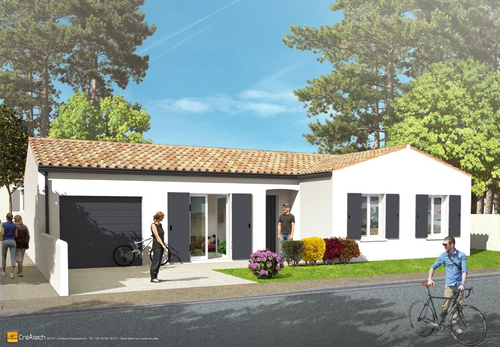 Maisons + Terrains du constructeur MAISONS ACCO - Agence de LA JARNE • 90 m² • SAINT JEAN D'ANGELY