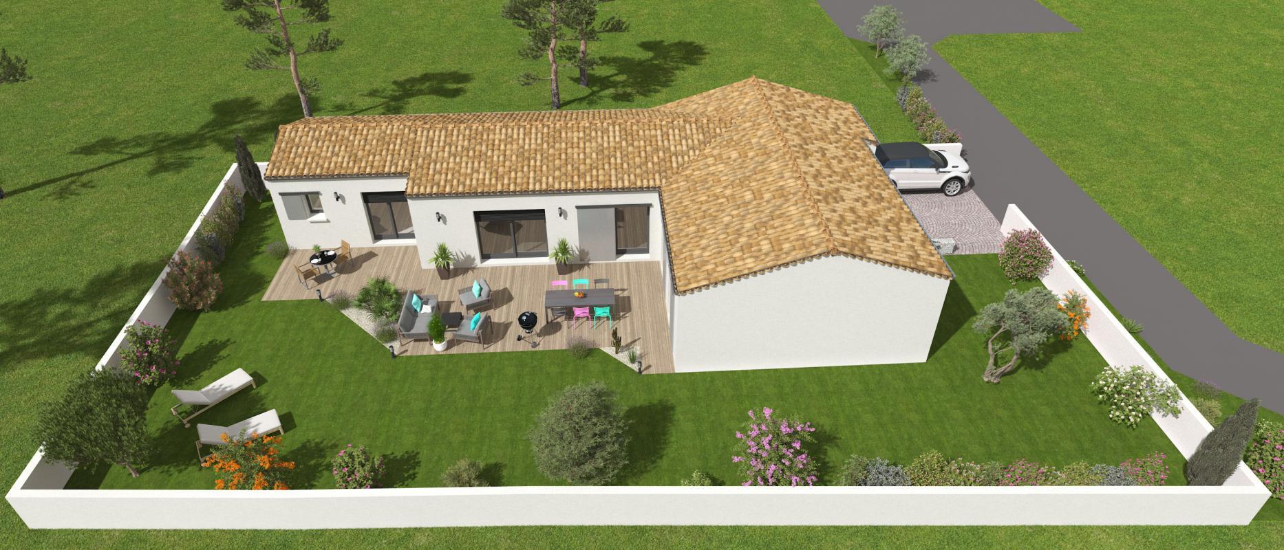 Maisons + Terrains du constructeur MAISONS ACCO - Agence de LA JARNE • 122 m² • SAINT SULPICE DE ROYAN