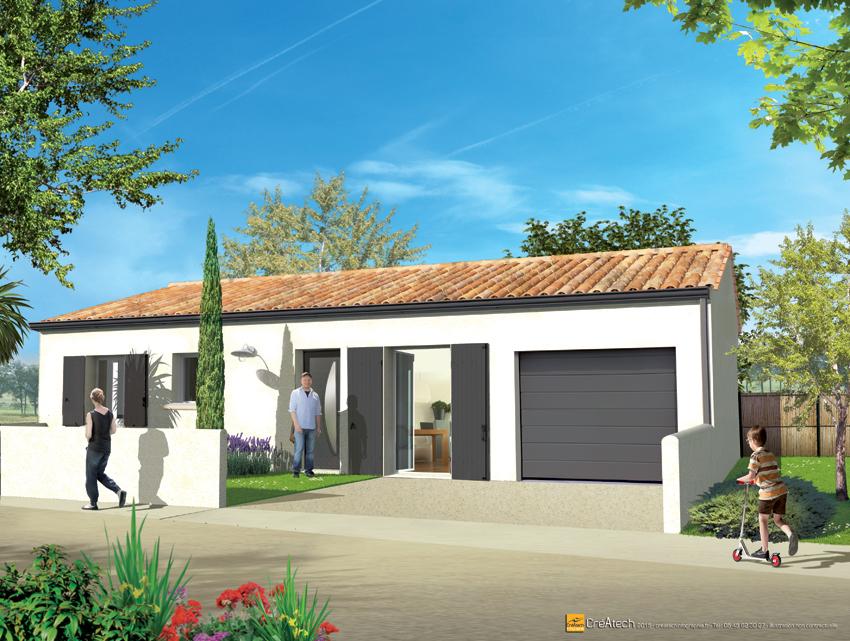 Maisons + Terrains du constructeur MAISONS ACCO - Agence de LA JARNE • 69 m² • SAINTES