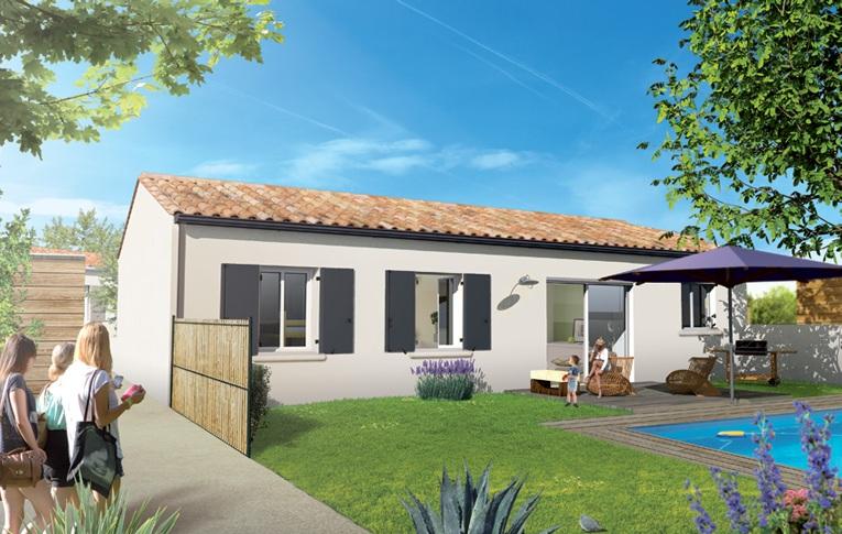 Maisons + Terrains du constructeur MAISONS ACCO - Agence de LA JARNE • 79 m² • SAINTES