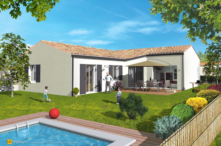 Maisons + Terrains du constructeur MAISONS ACCO - Agence de LA JARNE • 95 m² • FERRIERES