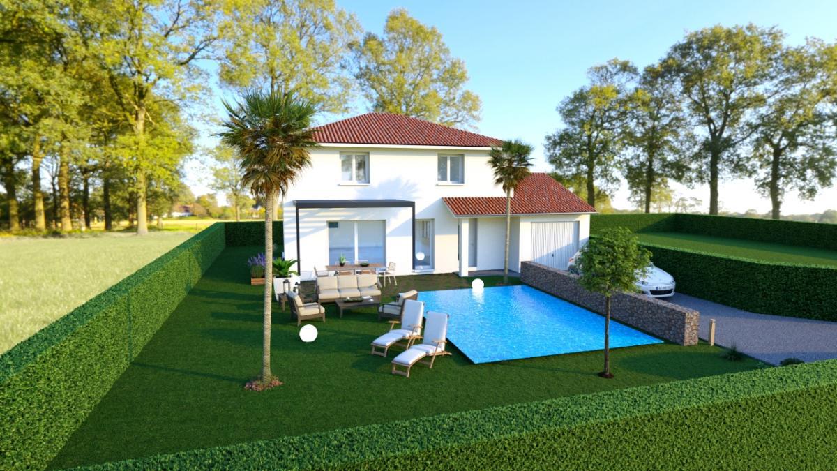 Maisons du constructeur CREAVILLA 38 • 107 m² • VOIRON