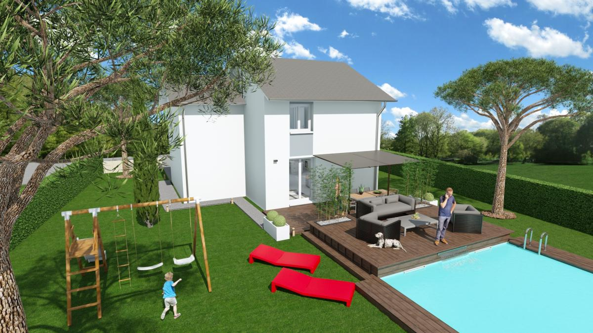 Maisons du constructeur CREAVILLA 38 • 80 m² • VOIRON