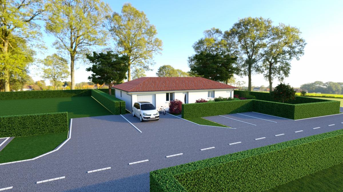 Maisons du constructeur CREAVILLA 38 • 100 m² • VOIRON