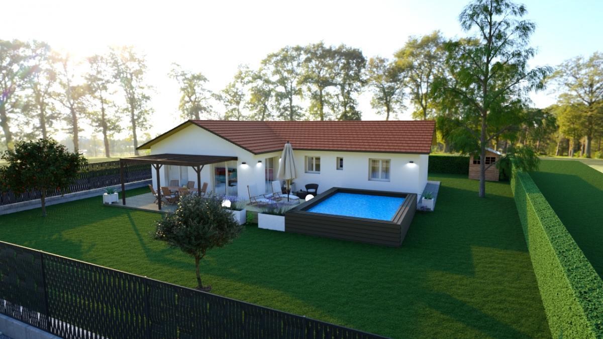 Maisons du constructeur CREAVILLA 38 • 90 m² • COLOMBE