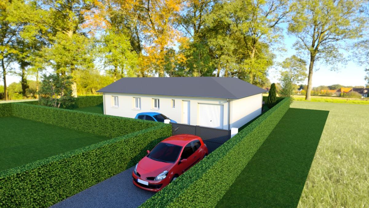 Maisons du constructeur CREAVILLA 38 • 95 m² • COLOMBE