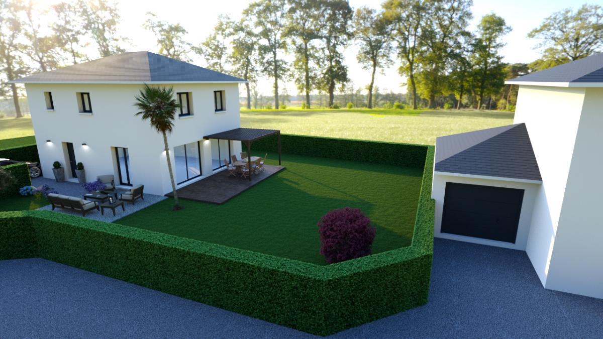 Maisons du constructeur CREAVILLA 38 • 95 m² • PONTCHARRA