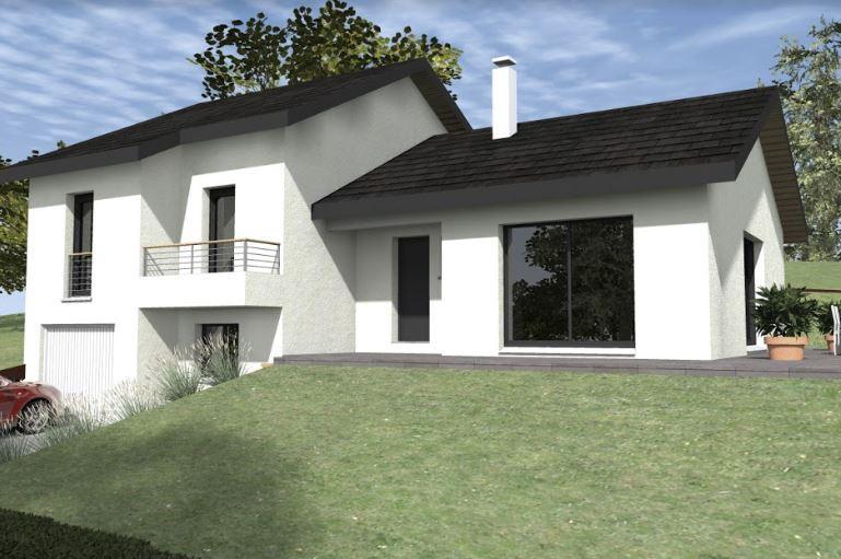 Maisons du constructeur CREAVILLA 38 • 105 m² • SAINT PIERRE D'ALLEVARD