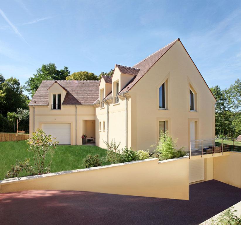 Terrains du constructeur MAISONS ERMI • 811 m² • VIGNY