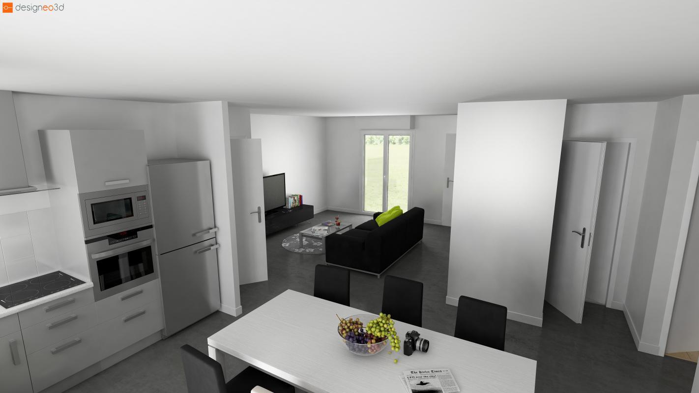 Maisons + Terrains du constructeur Maisons Le Masson LORIENT • 76 m² • PONT SCORFF