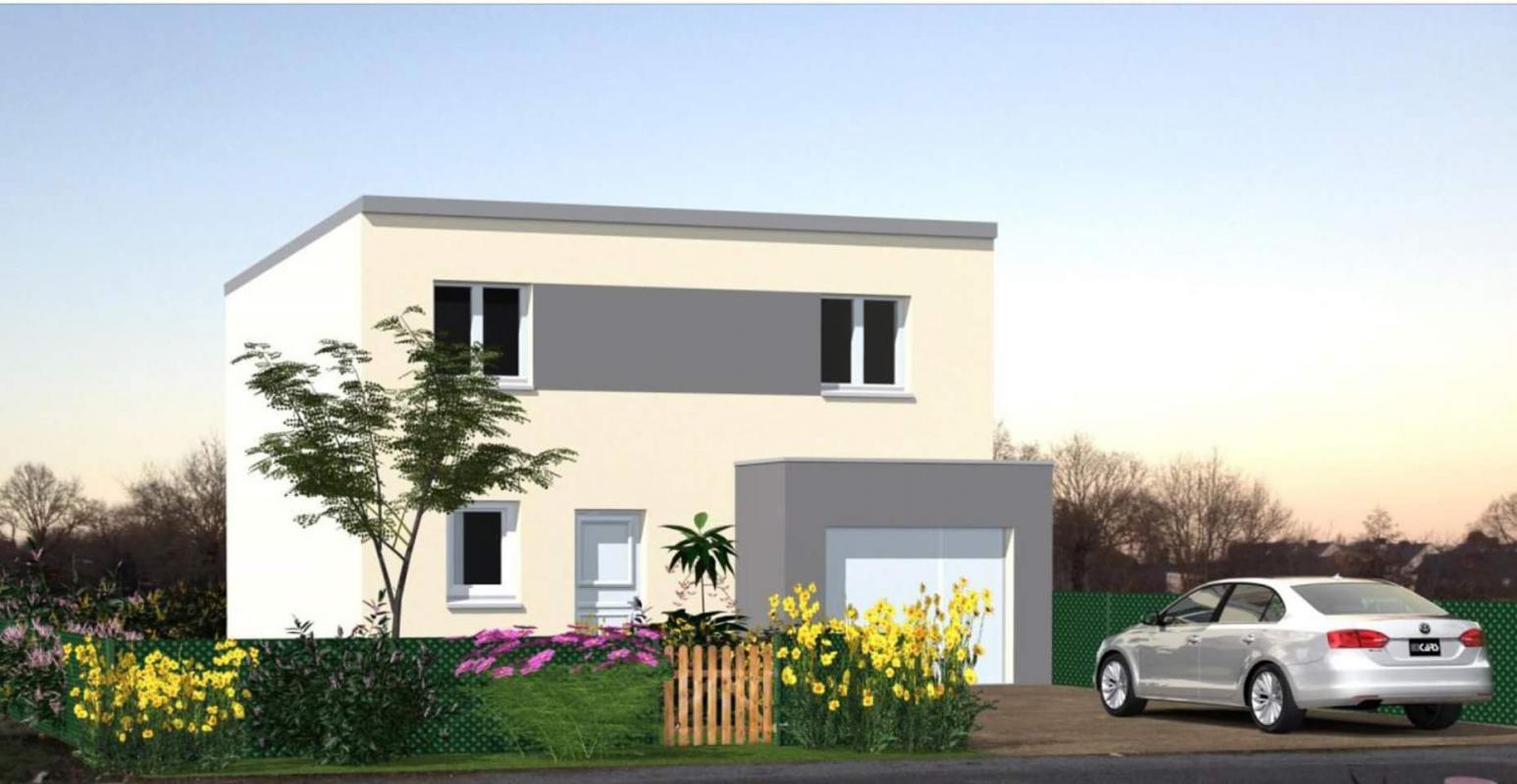 Maisons + Terrains du constructeur Maisons Le Masson LORIENT • 94 m² • HENNEBONT