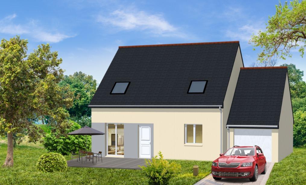 Maisons + Terrains du constructeur Maisons Le Masson LORIENT • 75 m² • KERVIGNAC